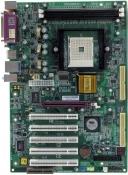 Сист.плата Б/У s754 EPoX EP-8HDAI Pro 2xDDR,4xUSB,2xSATA, 1xAGP, 1xCOM, 1xLPT,ATX