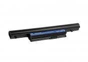 АКБ для ноутбука Acer (AS10E76) TopON / 11.1V, 4400mAh / Aspire 4820 5820 черная