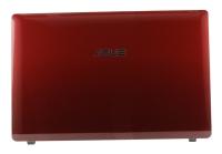 Корпус ASUS K53E часть A (Крышка) красный / 13GN3C6AP010-1