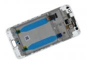 """Модуль для смартфона 5.5"""" ASUS ZenFone Live ZB553KL белый ORIGINAL с рамкой"""