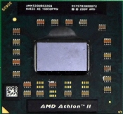 Процессор для ноутбука Б/У S1g3 AMD Athlon II Dual-Core Mobile M320 (2.1Ghz, 1Mb) / AMM320DBO22GQ