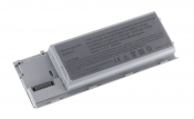 АКБ для ноутбука Dell (PC764) / 11.1V, 5200 mAh / Latitude D620, D630, D631 серая