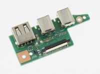 Плата интерфейсная для ноутбука ASUS K55A (2x Audio, USB)