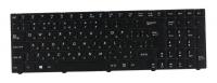 Клавиатура для ноутбука DNS 0801480 Pegatron C15 черная с рамкой
