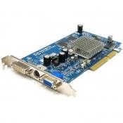 Видеокарта Б/У AGP GIGABYTE Radeon 9550 (128МБ DDR 128бит) D-Sub, DVI-I, S-video