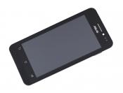 """Модуль для смартфона Б/У 4.5"""" ASUS ZenFone 4 A450CG черный ORIGINAL с рамкой"""