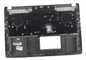 Клавиатура для ноутбука ASUS GL502VS топкейс серый, клавиши черные, с подсветкой / уценка