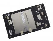 """Модуль для планшета Б/У 8"""" ASUS ZenPad 8 Z380KNL белый ORIGINAL с серебристой рамкой"""