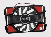 Вентилятор для видеокарты Б/У ASUS RX550, GT630 с рамкой