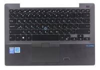 Клавиатура для ноутбука Б/У ASUS BU201LA топкейс серый, клавиатура черная с подсветкой, без тачпада