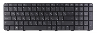 Клавиатура для ноутбука HP DV7-6000 черная с рамкой
