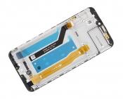 """Модуль для смартфона 6.3"""" ASUS Zenfone Max Pro (M2) ZB631KL черный ORIGINAL с рамкой"""