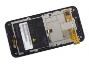 """Модуль для смартфона Б/У 45"""" ASUS PadFone A66 черный ORIGINAL с рамкой"""
