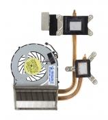 Вентилятор HP Envy 17 (для процессора Intel Core i5, дискретная видеокарта) с термотрубкой