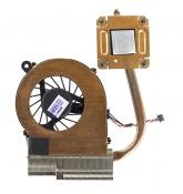 Вентилятор HP CQ42 (интегрированная видеокарта) с термотрубкой