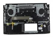 Клавиатура для ноутбука ASUS GL503VD топкейс черный, клавиши черные, с подсветкой