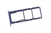 Лоток SIM карты ASUS Zenfone Max (M2) ZB632KL синий