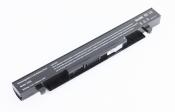 АКБ для ноутбука Asus (A41-X550) / 14.8V, 2600mAh / X450, X450V, X450VB черная