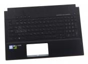 Клавиатура для ноутбука Б/У ASUS ROG Zephyrus M GM501GM топкейс черный, клавиши черные / дефект