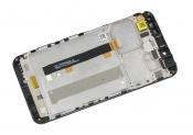 """Модуль для смартфона Б/У 5.5"""" ASUS ZenFone 3 Max ZC553KL черный с рамкой"""